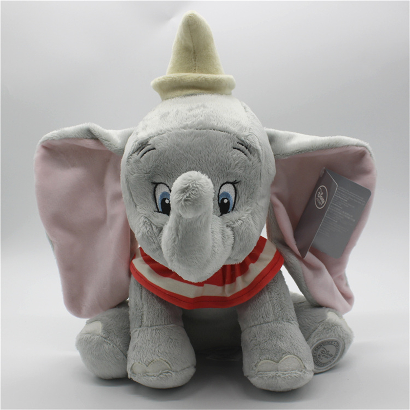 1piece Cute Dumbo Elephant Plush Toy Stuffed Animals Baby Girls Kids Toys  Dumbo the Flying Elephant Children Christmas Gifts