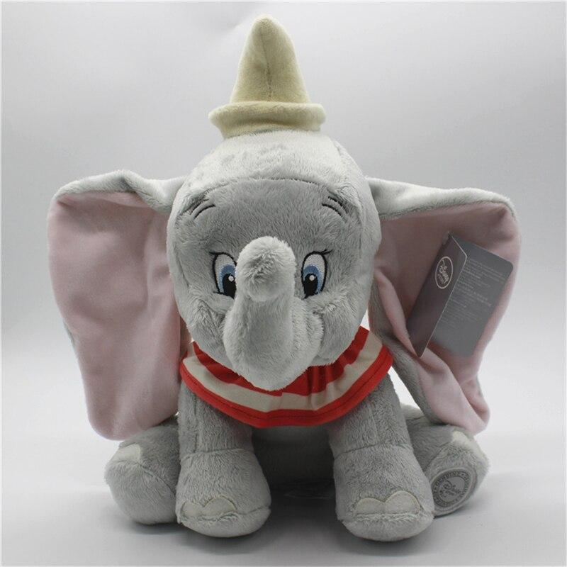 1piece Cute Dumbo Elephant Plush Toy Stuffed Animals Baby Girls Kids Toys  Dumbo the Flying Elephant Children Christmas Gifts