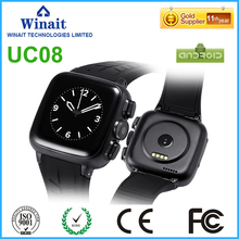 3G android phone watch with heart rate/touch display/camera/pedometer smart watch free shipping