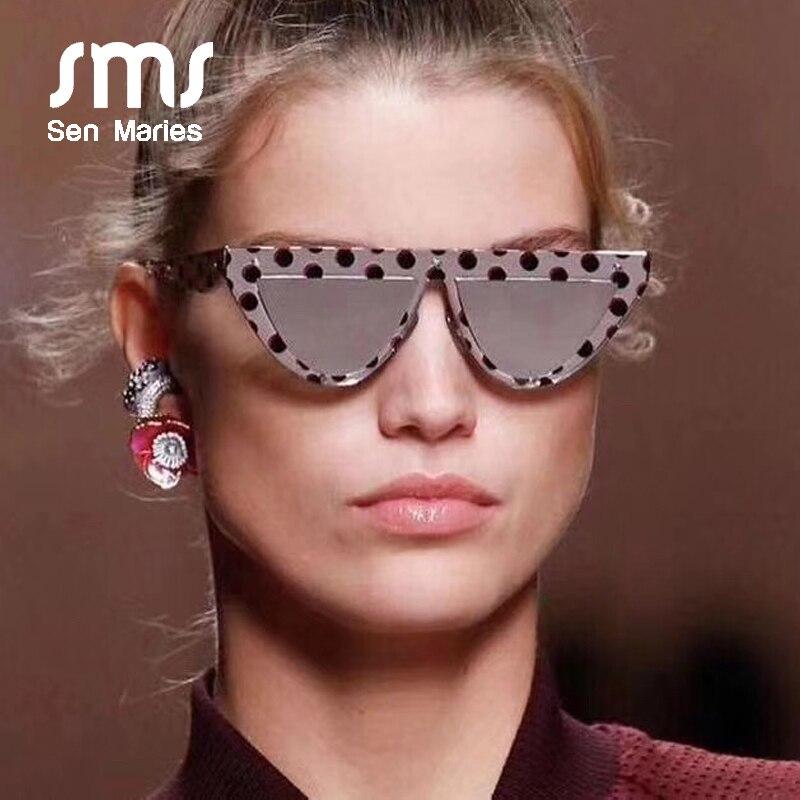 2019 ретро в форме кошачьих глаз Солнцезащитные очки женские роскошные брендовые Модные оттенки женские плоские верхние солнцезащитные очки винтажные очки UV400 Oculos