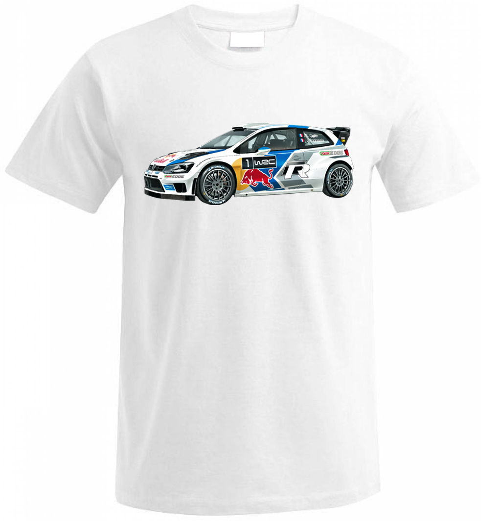 POLO R WRC RALLY GTI R32 Fan T Shirt T-SHIRT Weihnachtsgeschenk Mens T-Shirt Summer O Neck Cotton Summer O-Neck Tops
