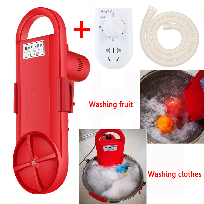 22%,Portable Washing Machine Electric Clothes Washing Cleaning Device Student Dormitory Rent Room Household Washed In 5 Minutes
