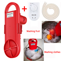 Mini Portable washing machine electric clothes washing cleaning device student dormitory rent room household Washed in 5 minutes
