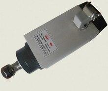 1.5kw мотор шпинделя с воздушным охлаждением двигателя шпинделя с чпу двигателя шпинделя