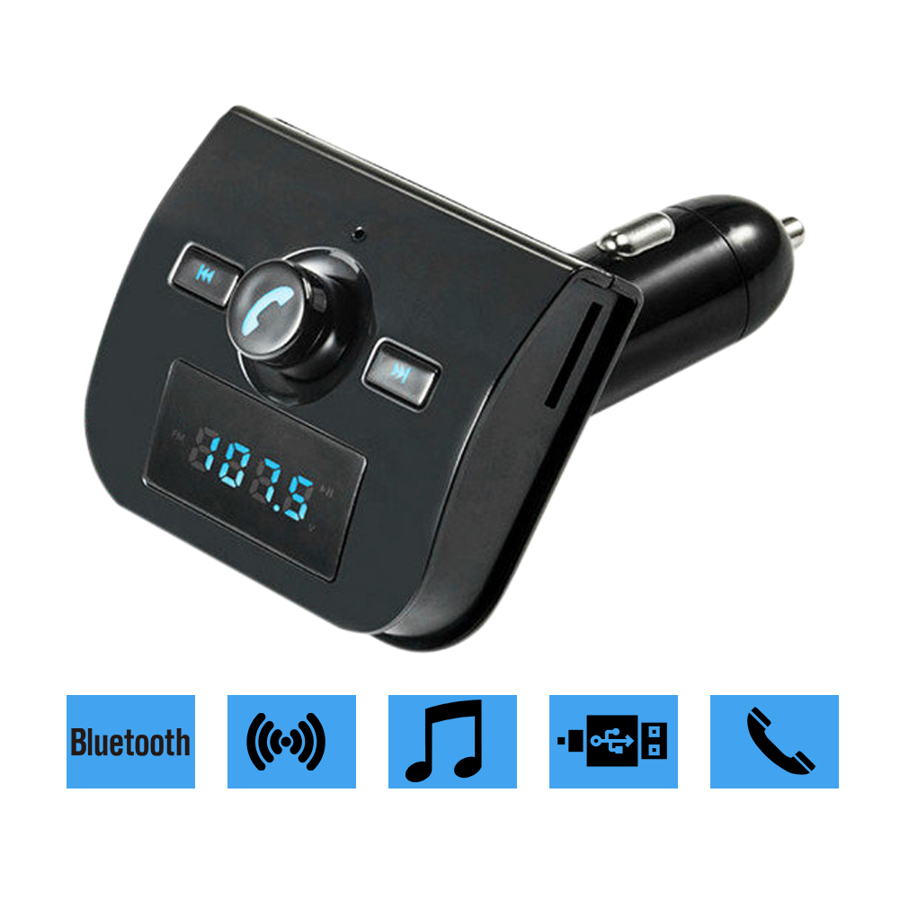 XK 760 Automotive Universal Bluetooth Transmitters Wireless Car MP3 Players HandsFree Car Kit Accessories