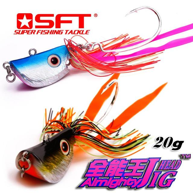 20g 40g 60g 90g SFT Multifunctional Super Strong Almighty Jig Seawater Freshwater Fishing Lure Jig Head Lake Sea Artificial Bait