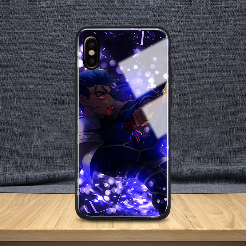 88d0283e1f Detail Feedback Questions about Cu Chulainn Fate Grand Order Tempered Glass  Soft Silicone Phone Case Shell Cover For Apple iPhone 5 Se 6 6s 7 8 Plus X  XR XS ...