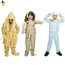 Boysu0026Girls Terror Mummy Costumes Kids Scary Mummificationu0026Zombieu0026Corpse Role Play Outfits for Halloween Masquerade Party for kid  sc 1 st  AliExpress.com & Buy zomby kids costumes and get free shipping on AliExpress.com
