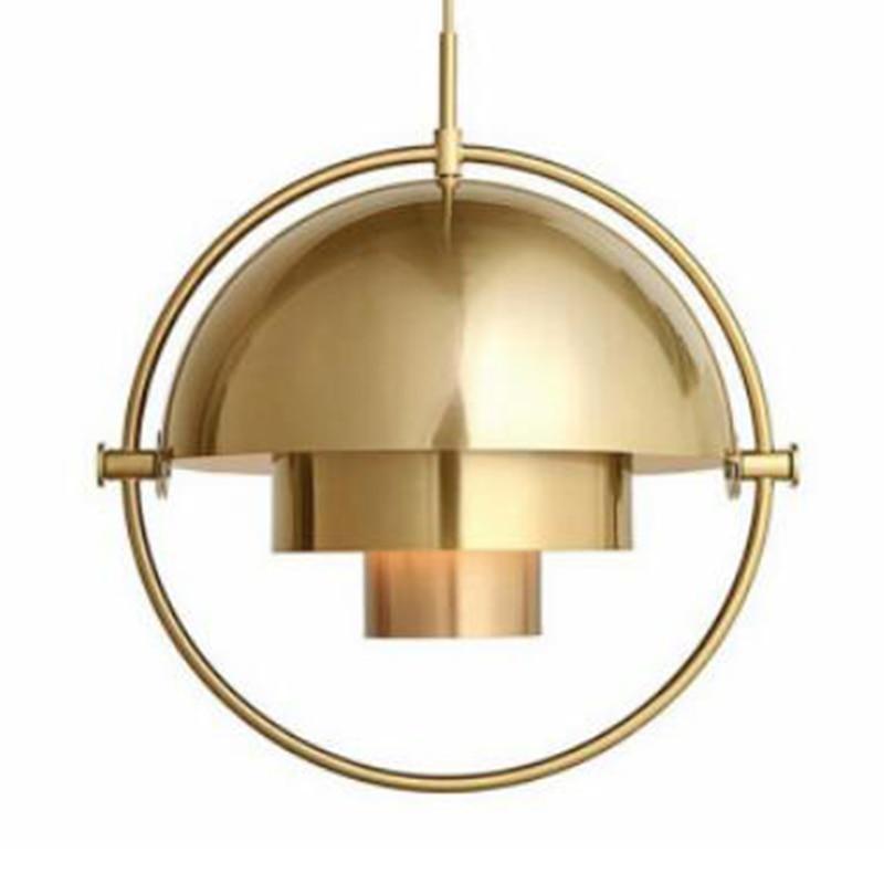 Designer post modern bar pendant light restaurant study bedroom bedside creative personality semicircular Pendant Lamp