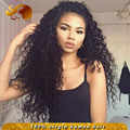 Indian Virgin Hair Full Lace Wig With Baby Hairs Free Parting Glueless Lace Front Human Hair Wigs For Black Women Natural