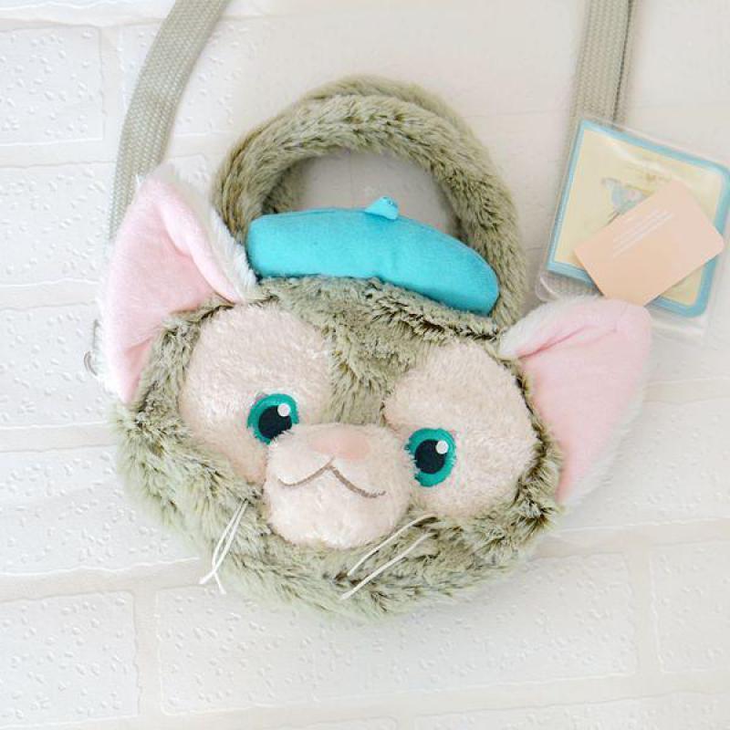 New Duffy Bear Friend Gelatoni Japanese Anime Plush Backpak Cute Cat Doll Shoulder Bag Best Birthday Gifts For Lovers Girl