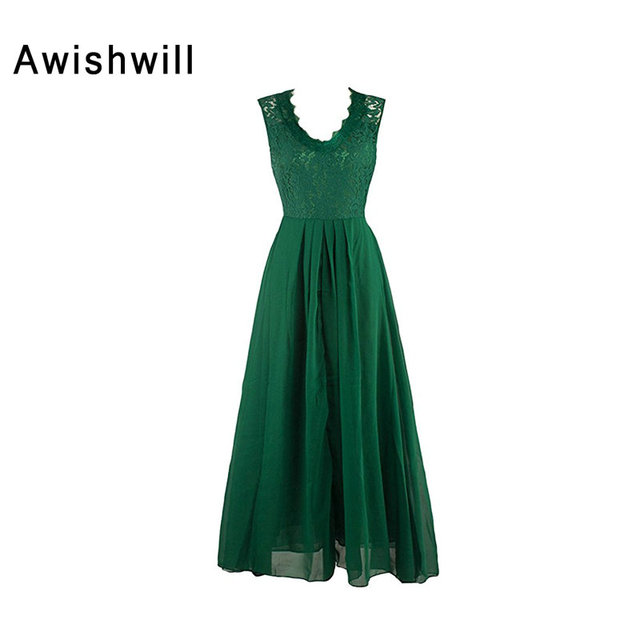 Elegant Mother Of The Bride Dresses Green Cap Sleeve Lace Chiffon