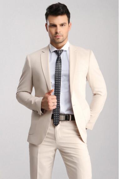 British Style Men\'s Slim Fit Wedding Suits Groom Tuxedos Groomsmen ...