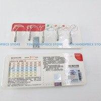 free shipping 10 pcs x Original woodpecker G1/ G2 /G3/ G4 P1 Dental Ultrasonic Scaler Tips scaling tips EMS & WOODPECKER