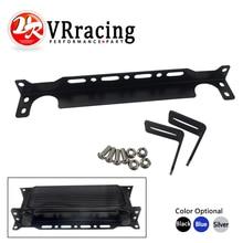 VR - New British type Universal Engine Oil Cooler Mounting Bracket Kit 2mm Thickness Aluminum VR-OCB01