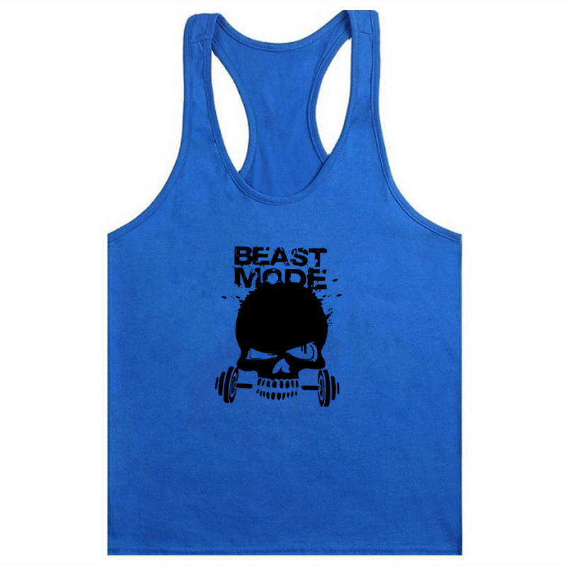 New men 39 s summer fitness sportswear tops T shirt gym fitness exercise muscle T shirt vest men 39 s running vest in Running Vests from Sports amp Entertainment