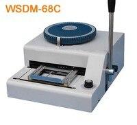 WSDM 68C Manual Code Printer PVC Card Embossing Machine Letterpress Rotogravure Printing Machine