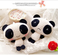 wholesale 100pcs kawaii charms plush panda anime lanyard pendant strap for mobile phone wedding decoration gift Free Shipping