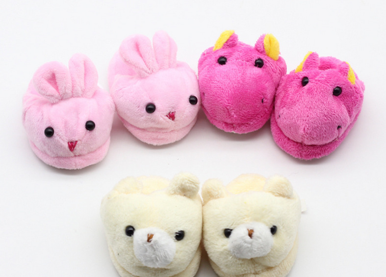 Pink Rabbit Slippers For 18 American Girl Doll Slippers For Baby Girls Doll Accessories  ...