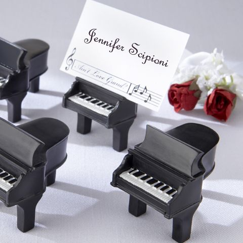 Utile Festa Di Nozze Centrotavola Design Unico Mini Piano Di Carta Del Posto Holder Wedding Party