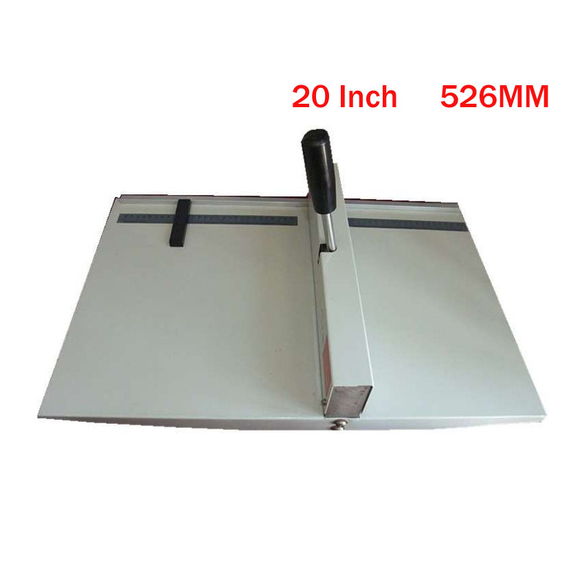 1 piece paper Creasing machine , paper creaser DC-16B for Creasing Length 526mm /20inch