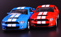 1:32 die cast modello collezionisti mustang gt500 jugetes para ninos car toys bambini