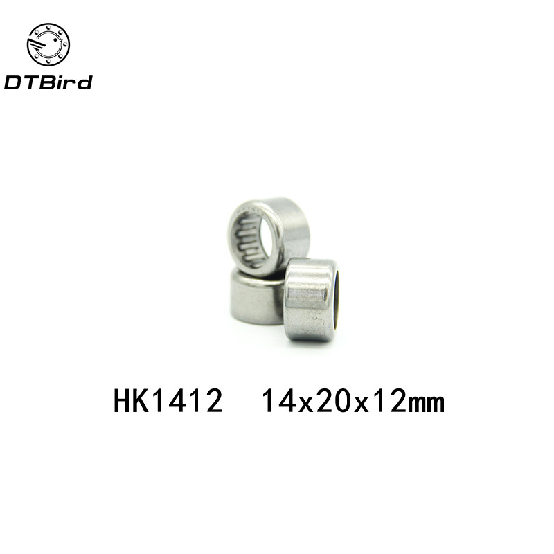 US Stock 5pcs HK1412 14 x 20 x 12mm Double Way Needle Roller Bearing