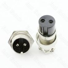 2 Pin Air Connector Plug GX16-2P