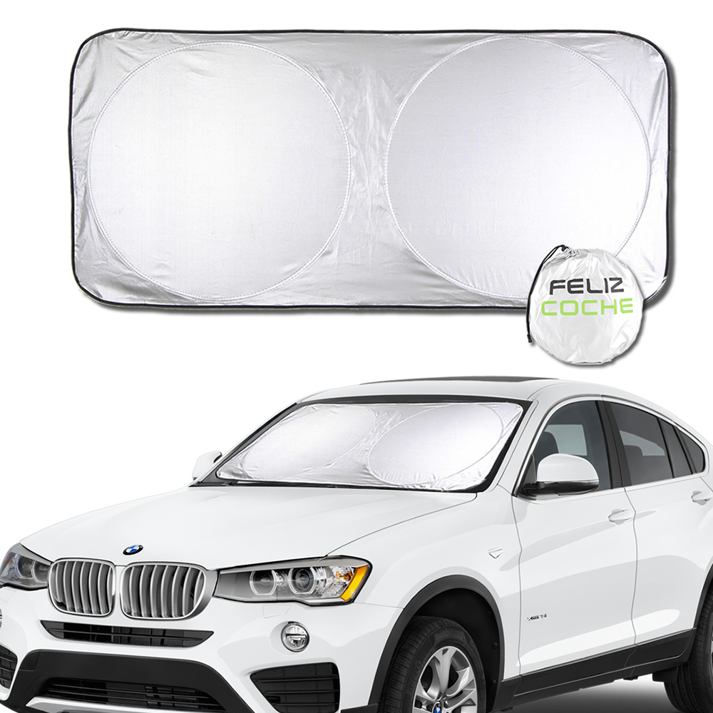 3 Size Car Window Sunshade Covers For PickUp Track ATV SUV