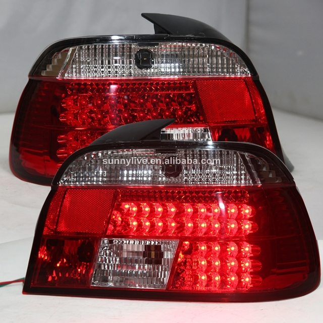For Bmw E39 5 Series 520 525 528 530 535 540 Led Tail Lamp 1995 2003 Sn Red White