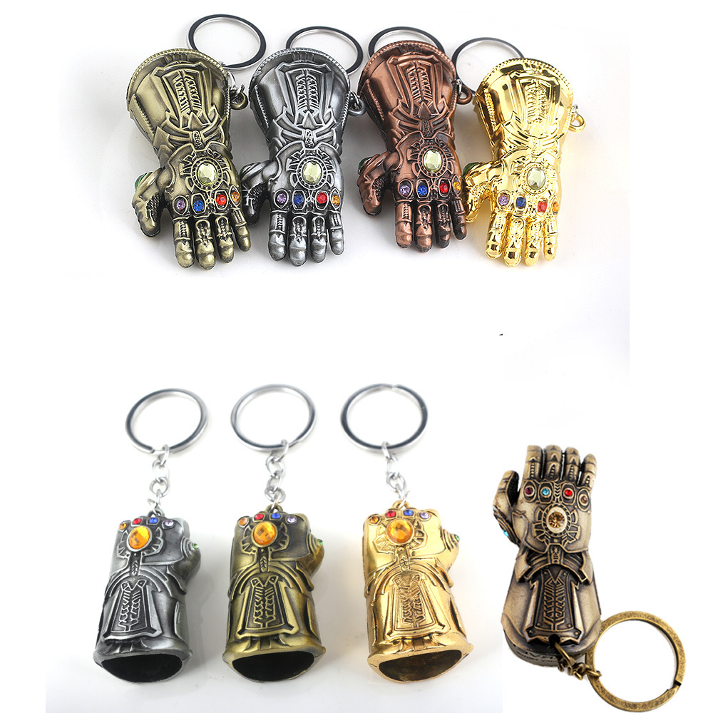 Punctual Marvel The Avengers 3 Infinity War Thanos Glove Ironman Spiderman Thor Deadpool Keychain Ring Toy Set Helmet Party Decoration Back To Search Resultstoys & Hobbies