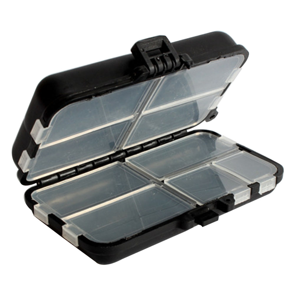 9 Grids Fishing Gear Square Tackle Storage Case Outdoor Plastic Lures Bait Portable Multipurpose(China)