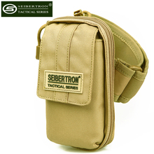Seibertron Tactical Outdoor Sporting 5″Cellphone iPod Arm Bag Pouch Case Lanyard Detachable pocket for Running Trekking Cycling