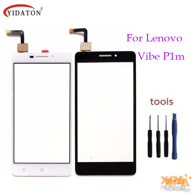 Touchscreen Touch Panel Sesnor For Lenovo Vibe P1m P1m a40 P1ma40 P1mc50 Touch Screen Digitizer Front lcd Glass Lens