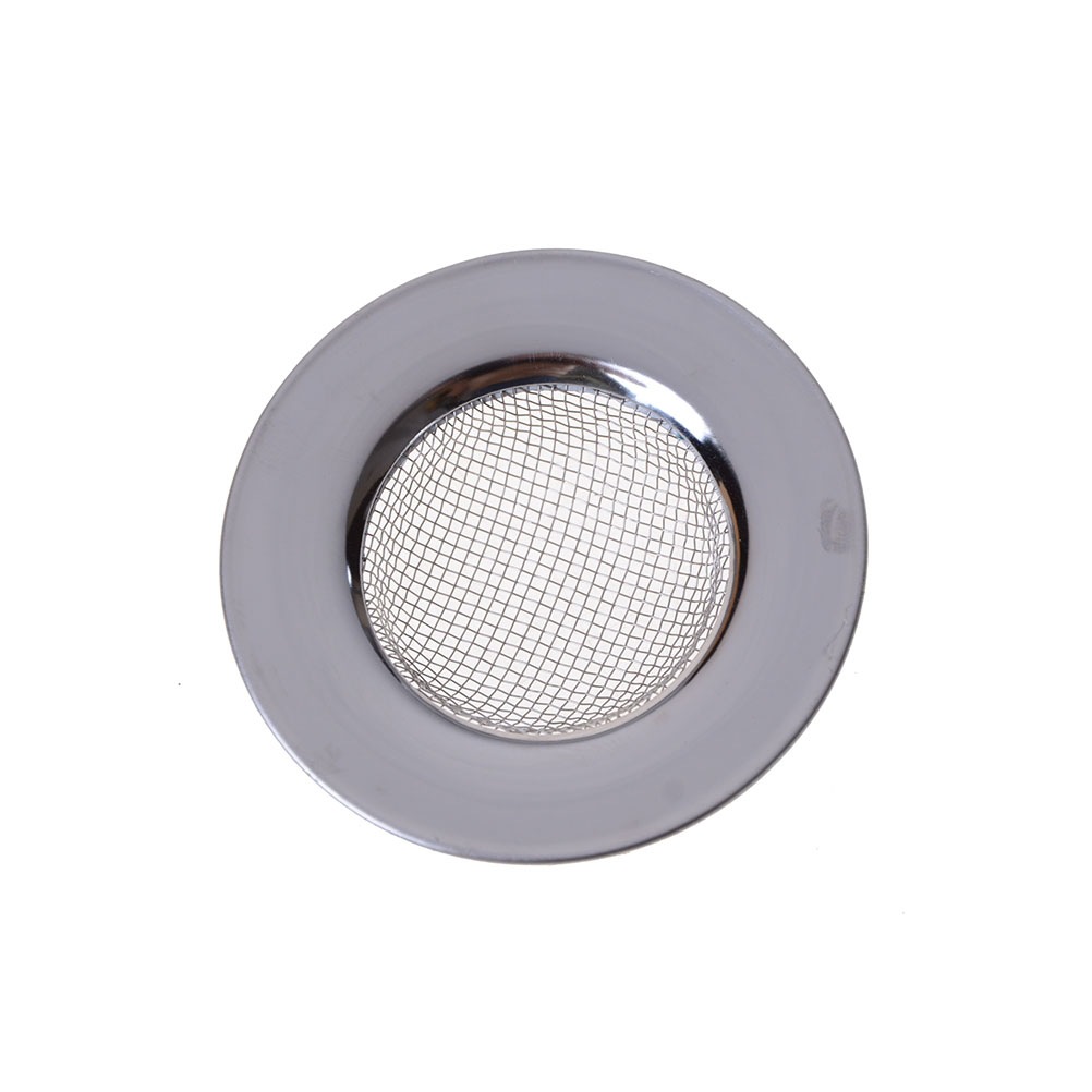 Stainless Steel Round Floor Drain Kitchen Sink Filter Sewer Drain Hair Colanders & Strainers Filter Bathroom Sink Filter
