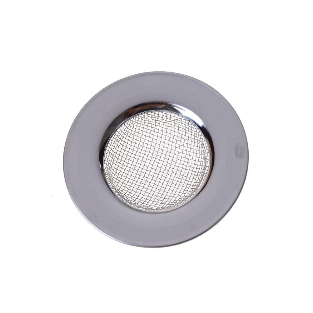 Stainless Steel Round Floor Drain Kitchen Sink Filter Sewer Drain Hair Colanders & Strainers Filter Bathroom Sink Filter