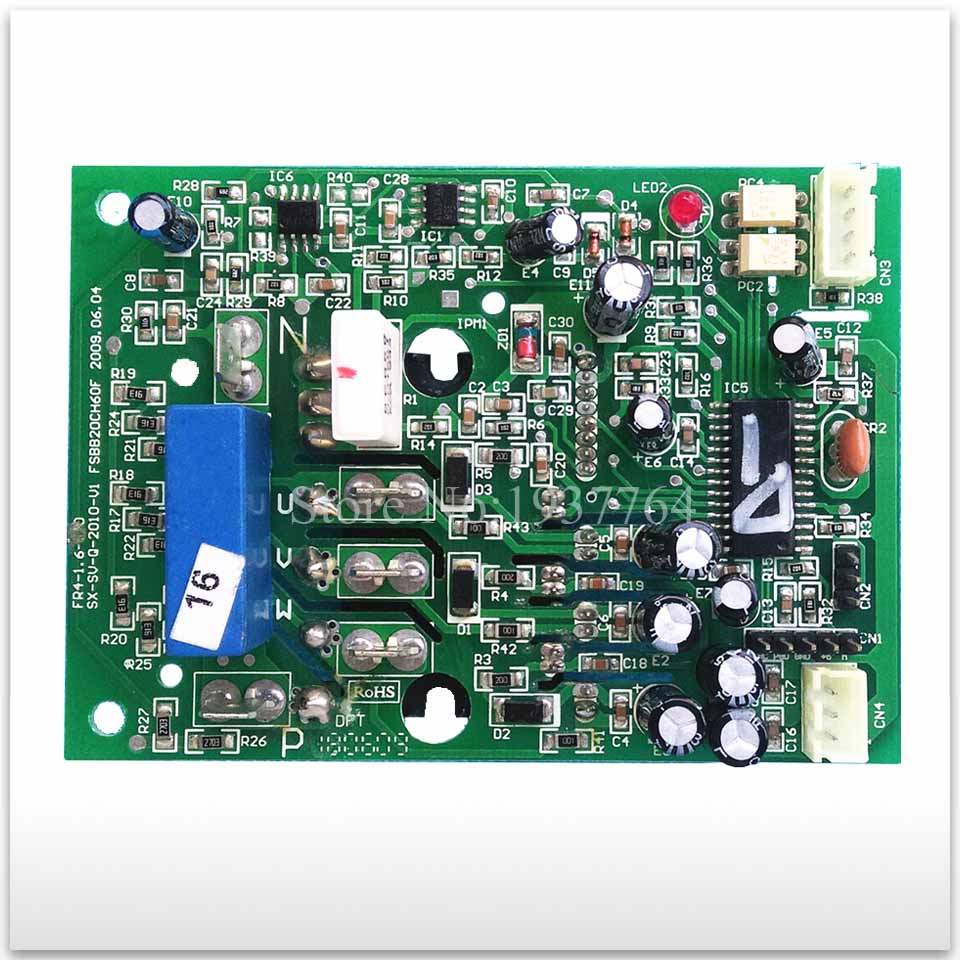second-hand for Air conditioning Power module frequency conversion used board SX-SV-Q-2010-V3 good working high q notch filter module 50hz signal conditioning can be custom notch frequency