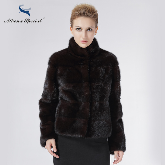 Aliexpress.com : Buy Athena Special Brand Natural Mink Coat Women ...