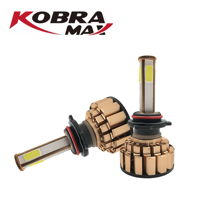 KobraMax LED Car Headlight 6000lm 60w 6000K H4 9005 9003 Universal Headlight Sold in Pair in Car Headlight Bulbs LED from Automobiles Motorcycles