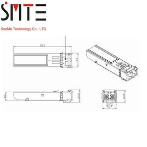 Image 4 - 1 coppia 1.25G BiDi SFP TX1490nm/RX1310nm TX1310nm/RX1490nm LC compatibile FTM 9912C SL10G modulo Transceiver SFP per OTDR