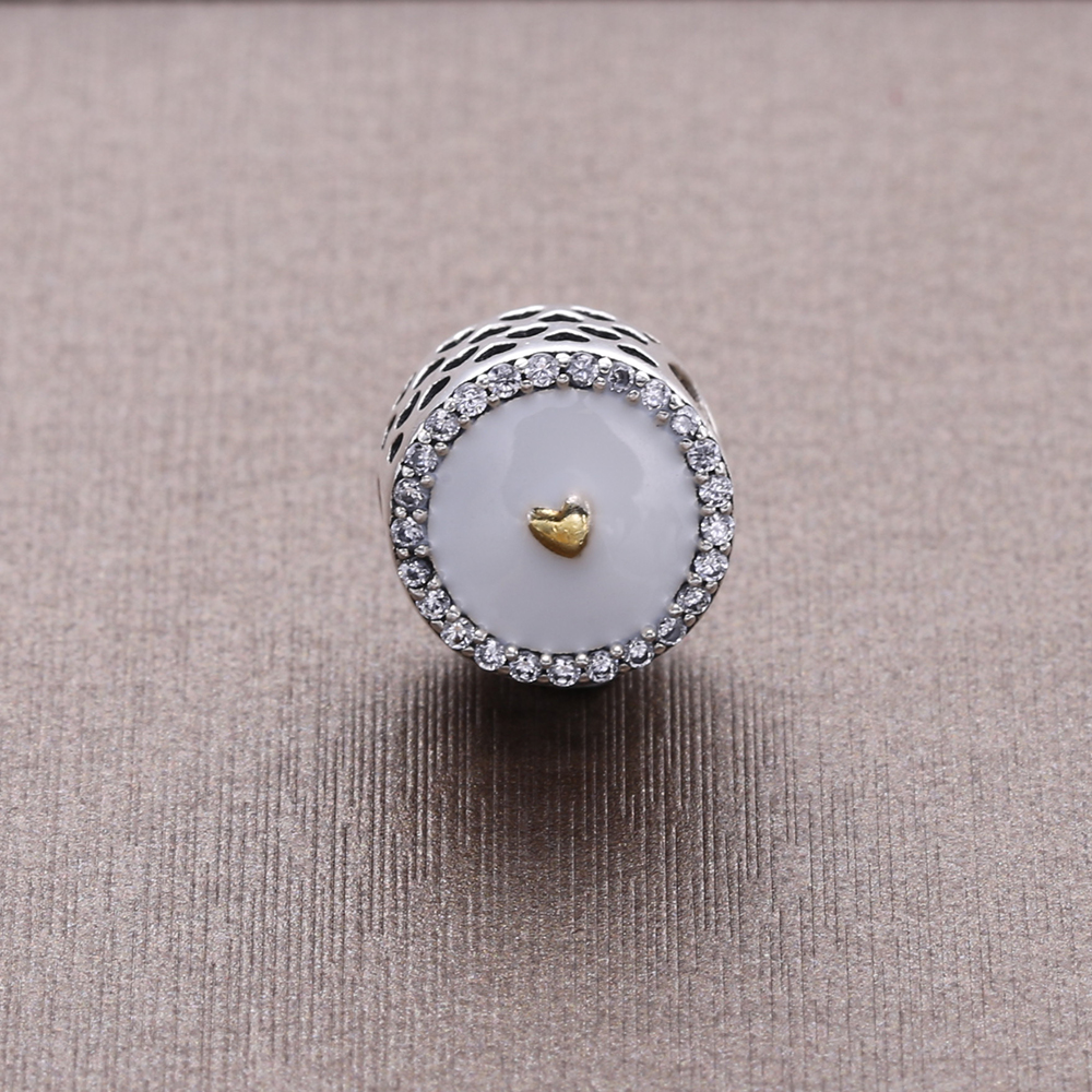 Slovecabin Vintage Charms Original 925 Sterling Silver Bead Fit Romantic Pandora Bracelet Silver 925 Bead For Women Diy
