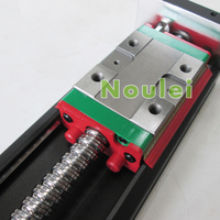 HIWIN KK60 Industrial Robot 60mm Stroke KK6005C 150A1 F4 Stepper Nema23 Motor Mounting Hole Linear Slide
