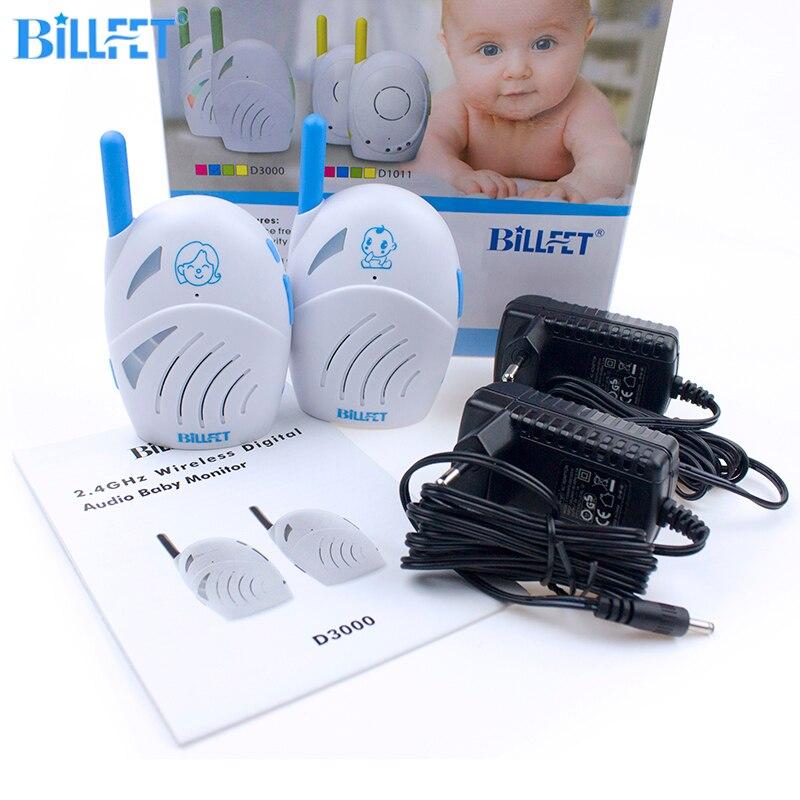bilder für BILLFET BABYPHONE Radio Bebe Radio Krankenschwester Zweiwegradio 2,4 Ghz übertragung Elektronische Babysitter bebek telsizii BabyPhone