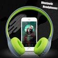 Беспроводная Связь Bluetooth Гарнитура Большие Наушники Стерео 4.1 Спорт Шумоподавлением Наушники наушники с Микрофоном для iPhone Xiomi Динамик