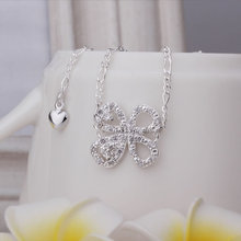 Factory Price Promotion ,925 Silver High Quality anklets wholesale Fashion Jewelry Solid Heart Pendant Anklet A010