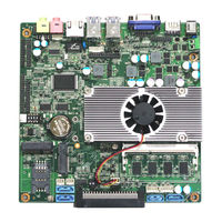 Ultra fino de alta 1037u Fanless Motherboard Onboard 2 G de memória e embutido suporte Wifi / 3 G