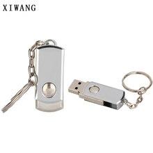 цена на usb flash drive metal Key chain usb 2.0 pen drive 4gb 8gb 16gb 32gb 64gb Silver bracelet usb flash 128GB memory stick Free logo