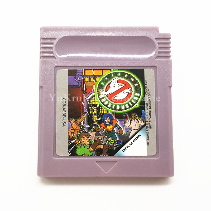 Extreme Ghostbusters Video Game Memory Cartridge Card for 16 Bit Console Accessories
