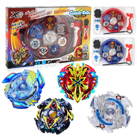 Free Shipping 4pcs Set Beyblade Arena Spinning Top Metal Fight Beyblade Metal Fusion Children Gifts Classic