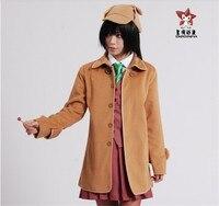 Anime Hyoka Eru Chitanda Imitate Sherlock Holmes Cosplay Costume Cotton Cape Coat S M L Free Shipping NEW